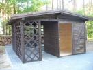 domki narzędziowe, ogrodowe, altany, drewutnie, wiaty - 7