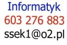 603 276 883 Informatyk Gdańsk Sopot laptopy komputery