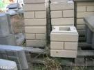 Bloczki ozdobne betonowe na słupki ogrodzenie podmurówki - 2