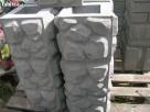 Bloczki ozdobne betonowe na słupki ogrodzenie podmurówki - 3