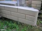 Bloczki ozdobne betonowe na słupki ogrodzenie podmurówki - 4