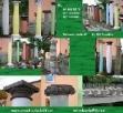 Kolumny betonowe filary podpory głowice doryckie Turobin