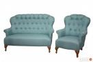 sprzedam sofe 2 siedzeniowa i fotel LONDON - 1