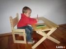 stolik i krzesełko rosnące z dzieckiem - 1
