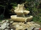 Duży wybór fontann ogrodowych z kamienia , piaskowca Kamienna Góra