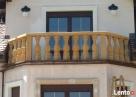 Balustrady z piaskowca z kwadratowymi tralkami Kamienna Góra
