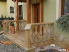 Balustrady z piaskowca z kwadratowymi tralkami - 2