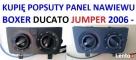 Kupię niedziałający panel nawiewu DUCATO BOXER JUMPER 2006- Rawa Mazowiecka