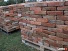 stare drewno rozbiórkowe bale deski cegła czerwona szamotowa - 2