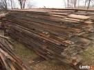 stare drewno rozbiórkowe bale deski cegła czerwona szamotowa - 4