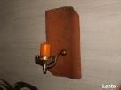 stare drewno rozbiórkowe bale deski cegła czerwona szamotowa - 3
