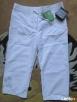 Spodnie nowe 3/4, letnie, rozmiar 36/S, przesyłka gratis - 2