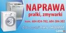 Naprawa zmywarek i pralek w Łukowie i okolicach Łuków