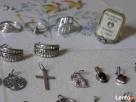 Srebrna 800 925 bizuteria srebro ZAMIANA pierścionki itp Krynica-Zdrój