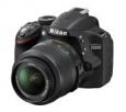 Lustrzanka cyfrowa Nikon D3200 + obiektyw 18-55 VR