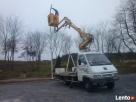 Usługi podnośnikami koszowym 12 m Bogdaniec