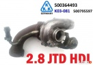 Turbina turbosprężarka powietrza CITROEN JUMPER 2.8 HDI 01-
