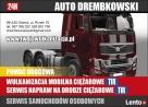 Wulkanizacja Ciężarowe ,TIR 24H WARSZAWA