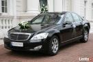 Ekskluzywna limuzyna Mercedes S-class do ślubu