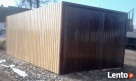 Garaże blaszane Garaż blaszany 3x5 brama akryl PRODUCENT Turek