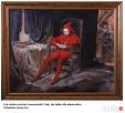 Obraz malowany ręcznie Stańczyk na płótnie z ramą Matejko Solec-Zdrój