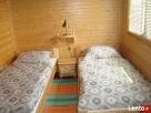Do wynajęcia -Dwa drewniane ,całoroczne domki wczasowe Lidzbark