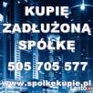 Skup /Sprzedaż Spółek /kupię Spółkę