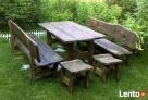 Drewniane meble ogrodowe Bielsko-Biała