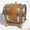 Beczka dębowa 5 litrów kran drewno - Idealna na stół Weselny