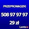 Przeprowadzki Szczecin 29zł - 2