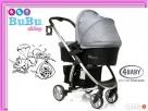 Wózek nowy 3w1 Atomic 4baby gondola+spacerowy+fotelik Tarnów