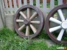 Koło drabiniaste ozdoba do ogrodu betonowe - 2