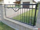 Eleganckie ogrodzenie, przęsło, panel - 8
