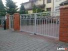 Brama dwuskrzydłowa, furtka, ogrodzenie, panel
