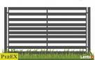 Ogrodzenie żaluzjowe, nowoczesne przęsło, panel Gorlice