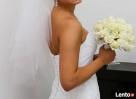 Śnieżnobiała suknia ślubna z salonu - 5