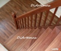 schody drewniane, samonośne, stopnie na beton, podstopnice - 1