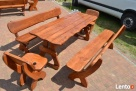 Meble ogrodowe drewniane - 7