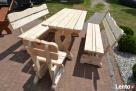 Meble ogrodowe drewniane - 1