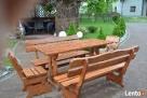 Meble ogrodowe drewniane - 3