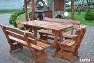 Meble ogrodowe drewniane - 2