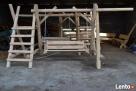 Meble ogrodowe drewniane - 5