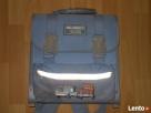 Plecak szkolny błękitny
