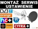 Montaż ustawianie anten satelitarnych naziemnych LUBICZ Lubicz