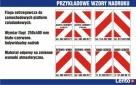 Flagi ostrzegawcze do wind samochodowych, platform - 2