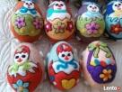 PISANKI jaja ręcznie wykonane z filcu * pisanka 12 Wrocław