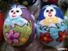 PISANKI jaja ręcznie wykonane z filcu * pisanka 12 - 8