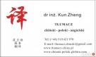 tłumaczenia ustne i pisemne w języku chińskim, polskim i ang