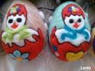 PISANKI jaja ręcznie wykonane z filcu * pisanka 12 - 6