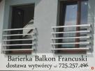 balustrady nierdzewne balkon francuski 18 wzorów - 3